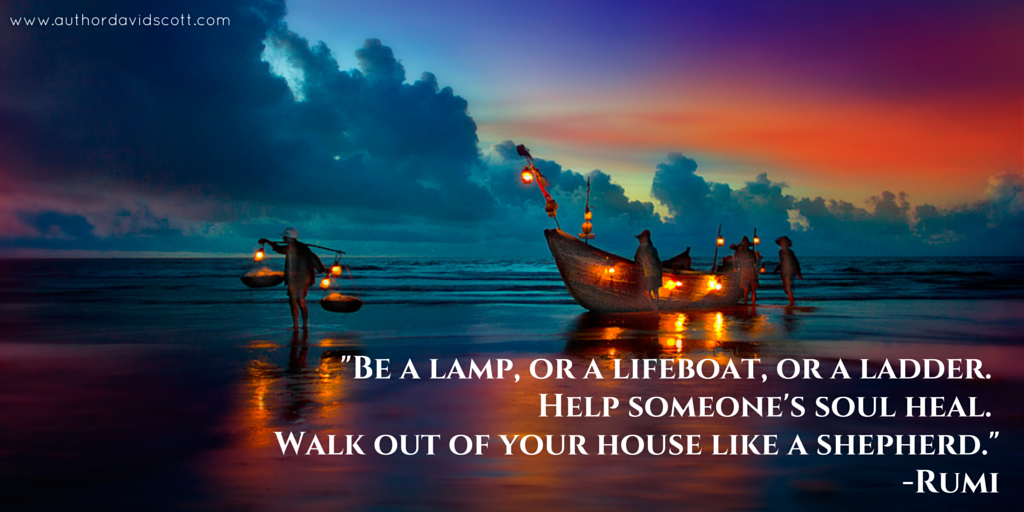 Be a lamp… Rumi